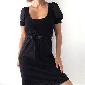 🌸 Bedo Women's Ruffled Bodycon Knit Mini Dress 🌸